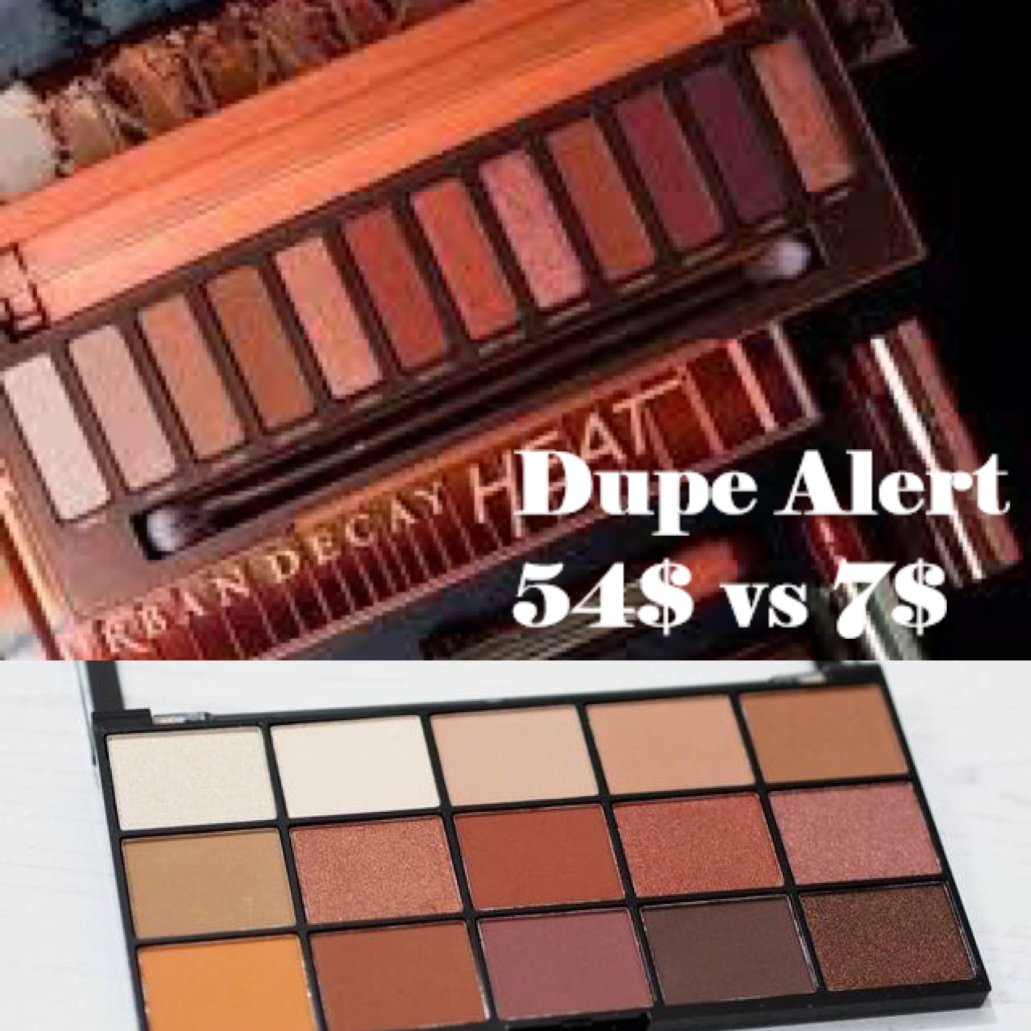 UD Naked Heat vs MUR Reloaded Iconic Fever