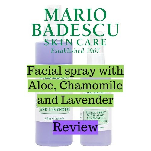 Mario Badescu Facial Spray With Aloe Chamomile And Lavender