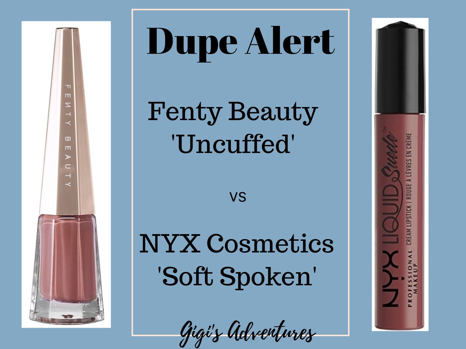 Dupe Alert: Fenty Stunna Lip Paint