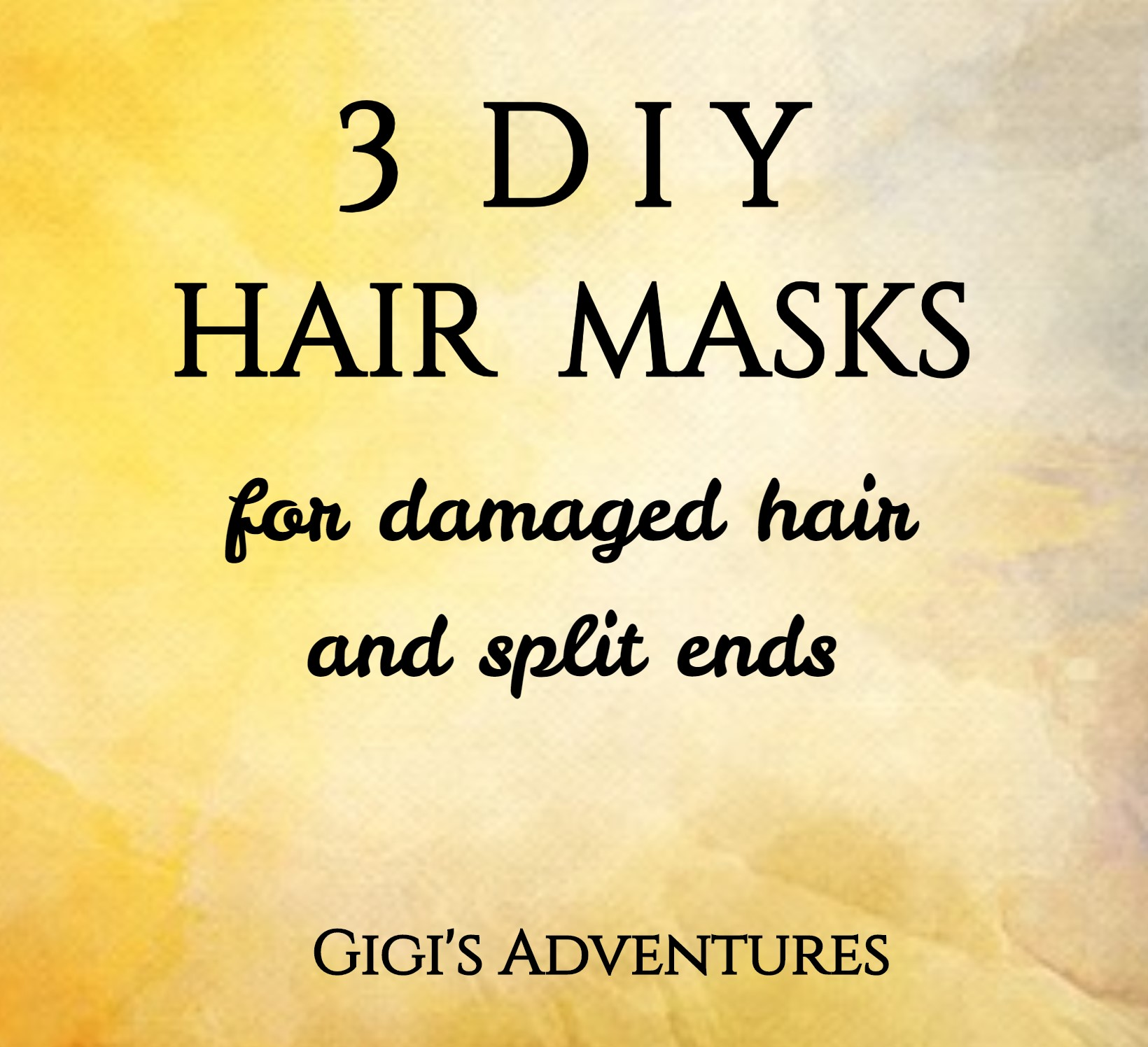 3 Diy Hair Masks For Damaged Hair And Split Ends That Ll
